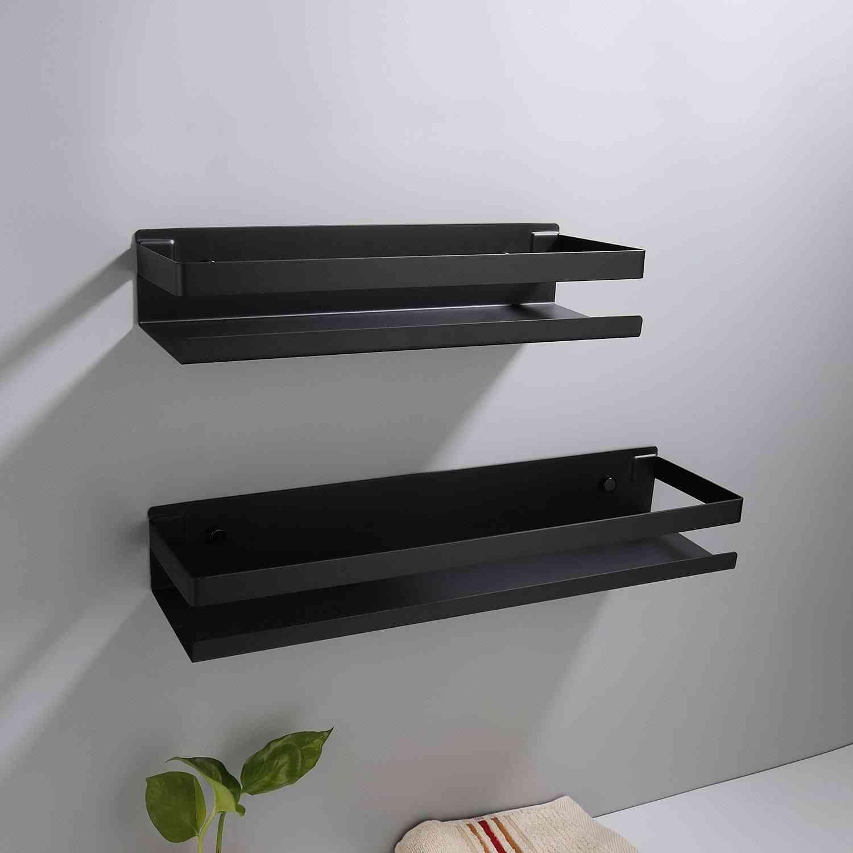 Bathroom Corner Shelves Kitchen Wall Shelf Storage Rack