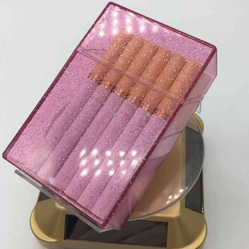Plastics Shining Clear Cigarette Case Box