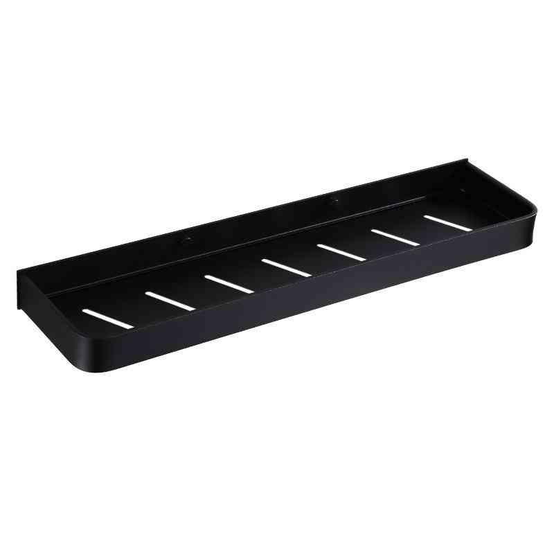 Black Bathroom Corner Shelf Wall Mounted