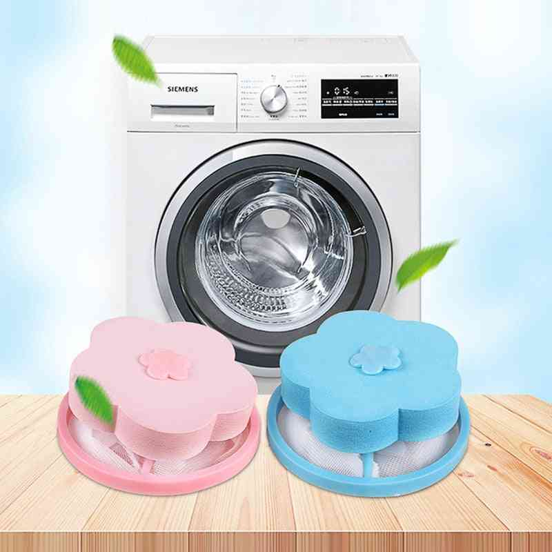 Filter Mesh Pouch Cleaning Balls Bag Dirty Washing Machine Filter Laundry Balls Discs