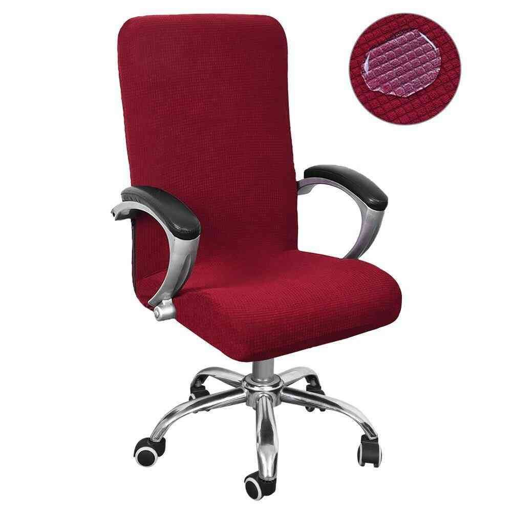 Waterproof Elastic Chair Covers, Anti-dirty Desk Seat Chair Cover