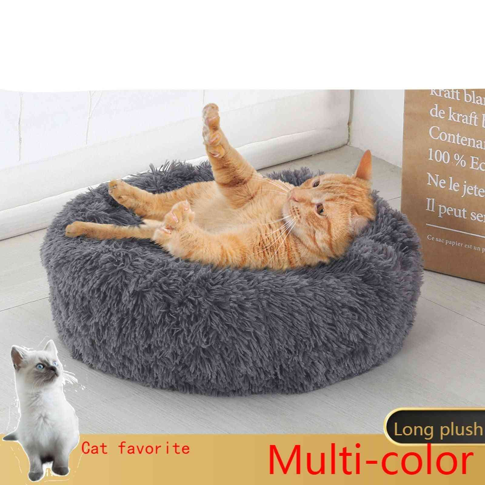 Soft Cat Bed Round