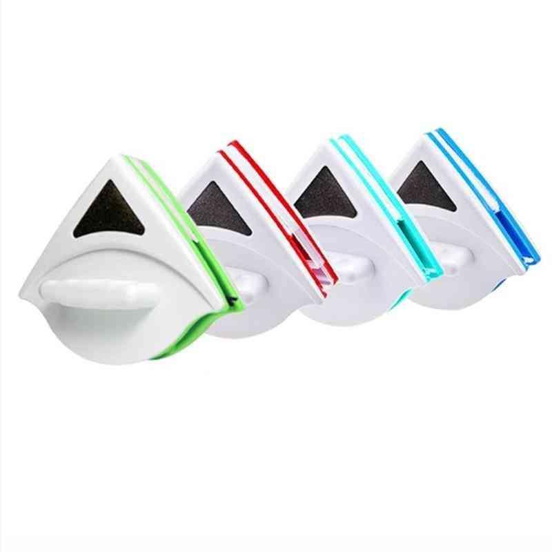 Magnetic Window Wiper Glass Cleaner Brush Tool