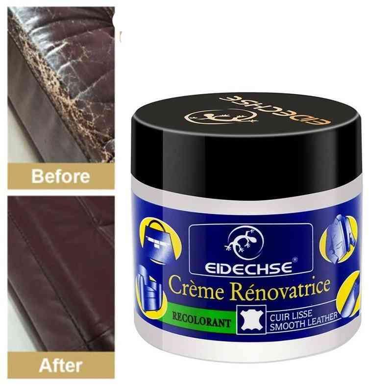 70g Leather Vinyl Repair Paste Filler Cream Sofa Leather Repair Scratch Crack Leather Repair Shoe Polish Repair Wound Cream