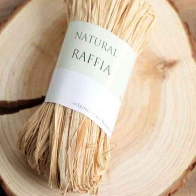 Raffia Natural Diy Crafts Rope