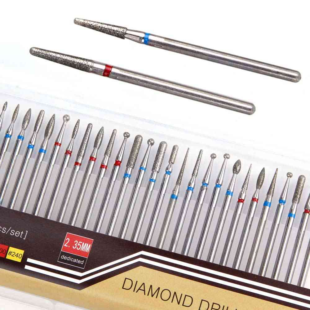 Diamond Cutters For Manicure Apparatus Milling Machine