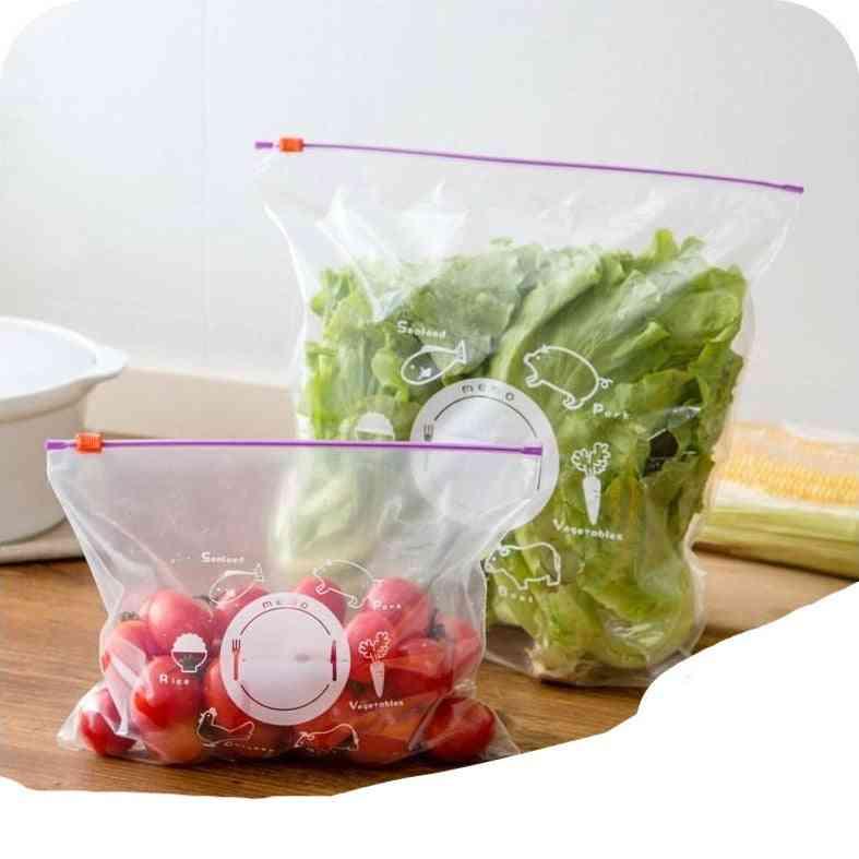 Food Storage Freezing Heating Zipper Bag