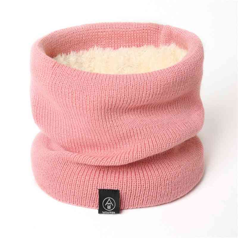 Wool Fur Thick Unisex Men Neck Scarf
