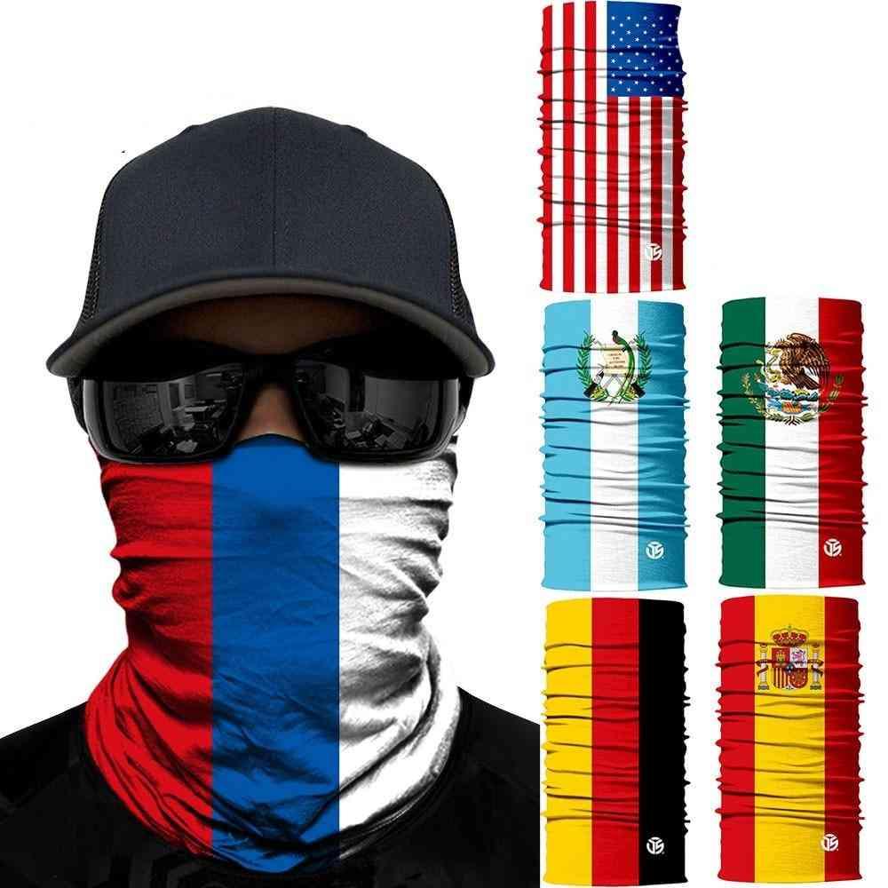 Summer Tube Tubular Pipe Face Headband Bandana Mask