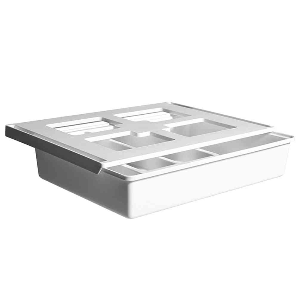 Hidden Desk Bottom Storage Box