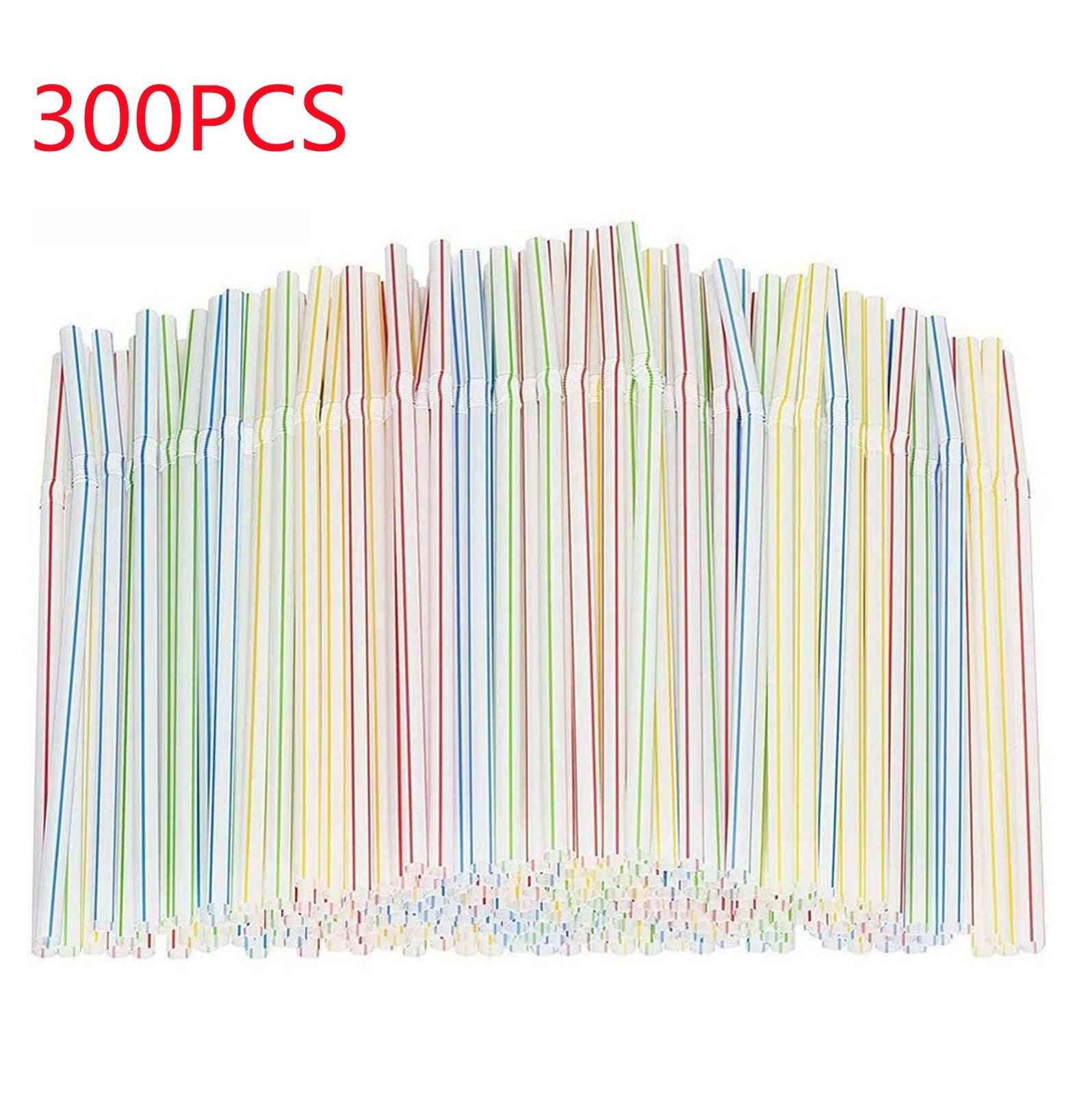 Disposable Flexible Plastic Straws