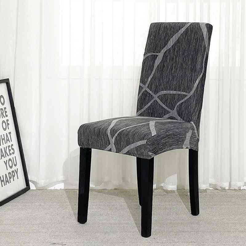 Geometry Spandex Chair Slipcover