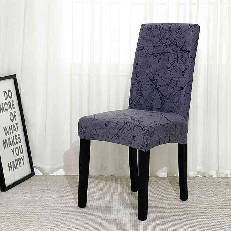 Geometry Spandex Chair Slipcover. Elastic Chair Cover