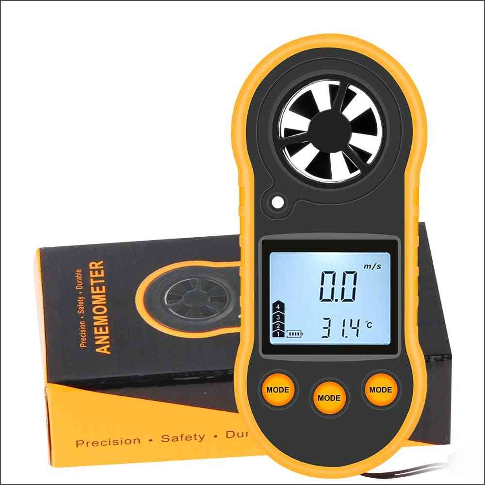 Digital Wind Speed Meter Portable Anemometer Sensor