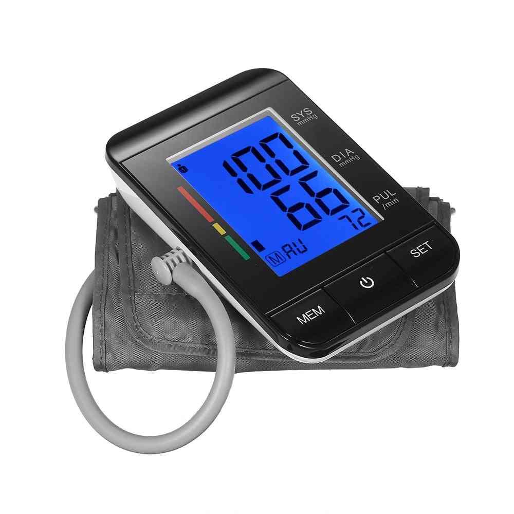 Blood Pressure Monitor Tonometer Arm Sphygmomanometer Meachine