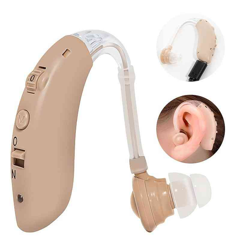 Rechargeable Hearing Device Digital Ear Aids Foundation For The Elderly Deafness Audifonos