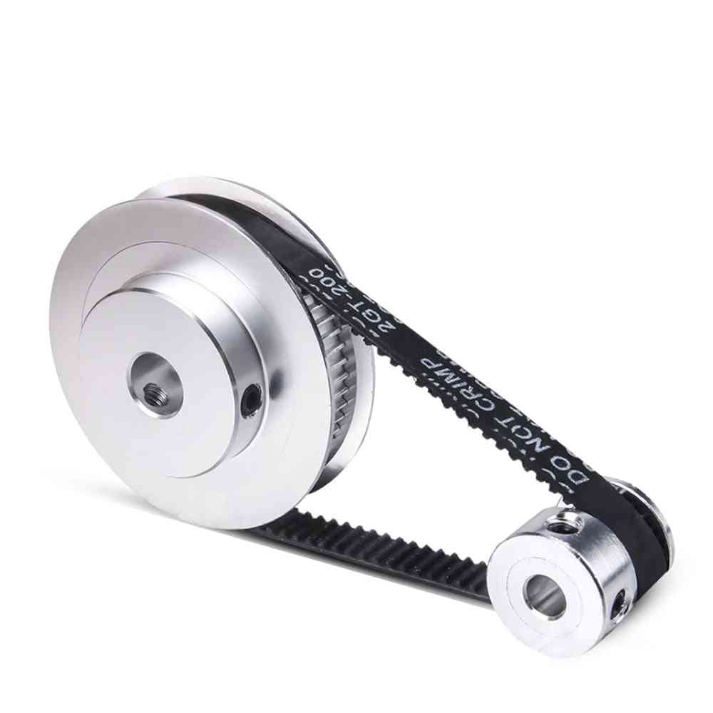 Yofuly Gt2 Timing Belt Pulley Bore 5/10mm 60 Teeth 20 Teeth Reduction 3:1/1:3 3d Printer Accessories Timing Belt Width 6mm