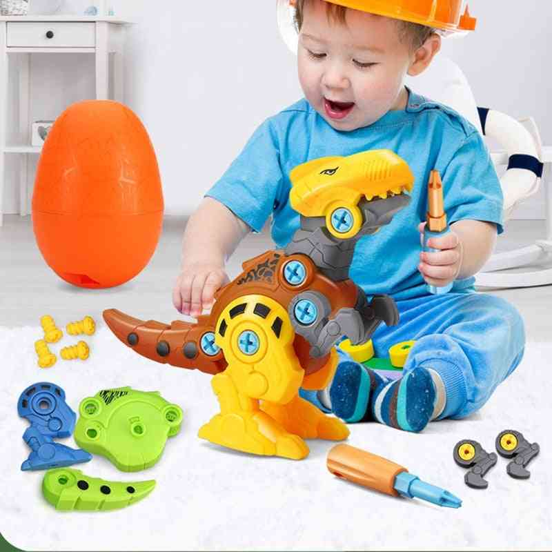 Building Dino Egg Play Kit With Screwdriver