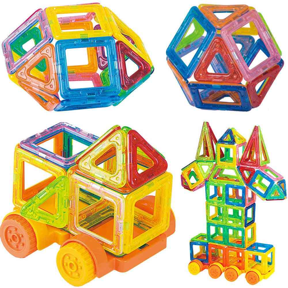 Magnetic Blocks Constructor Toy