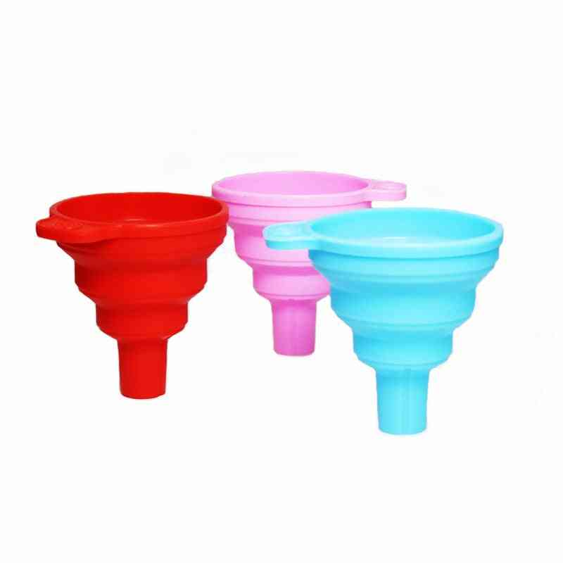 Folding Telescopic Round Mouth/square Oil Spill Funnel