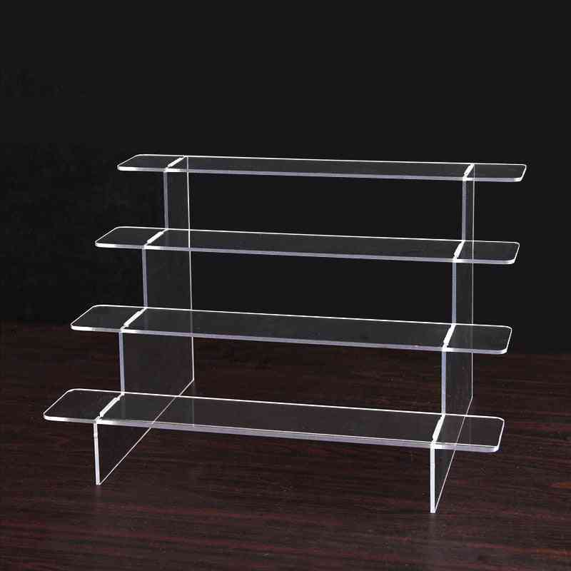 Acrylic Transparent Ladder Is Suitable For Doll/cosmetic/toy