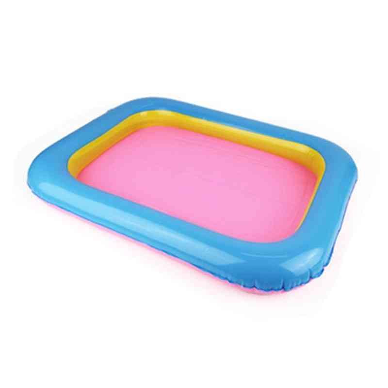 Indoor Magic Play Inflatable Sandbox Sand Tray