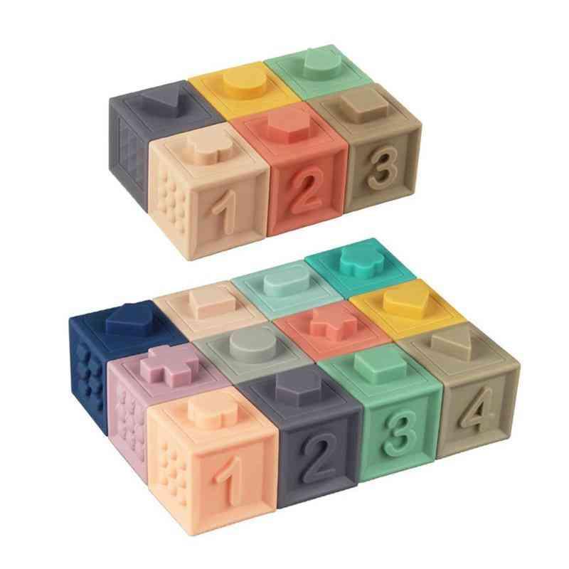 Educational Soft Rubber Building Blocks