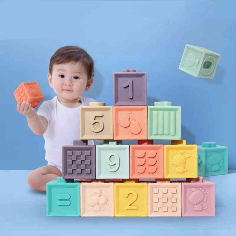 Baby Soft Plastic Building Blocks