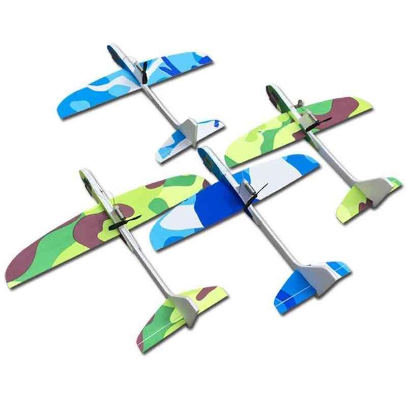 Capacitance Hand Throw Flying Glider Planes Foam Aeroplane Model..