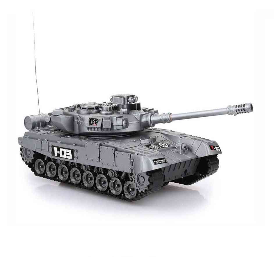 Tank Battle Launch Cross-country Tracked Remote Control Vehicle Crawler