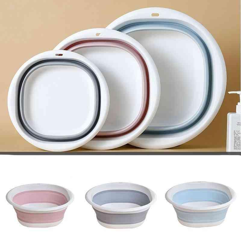 Plastic Folding Basins Portable Wash Basins