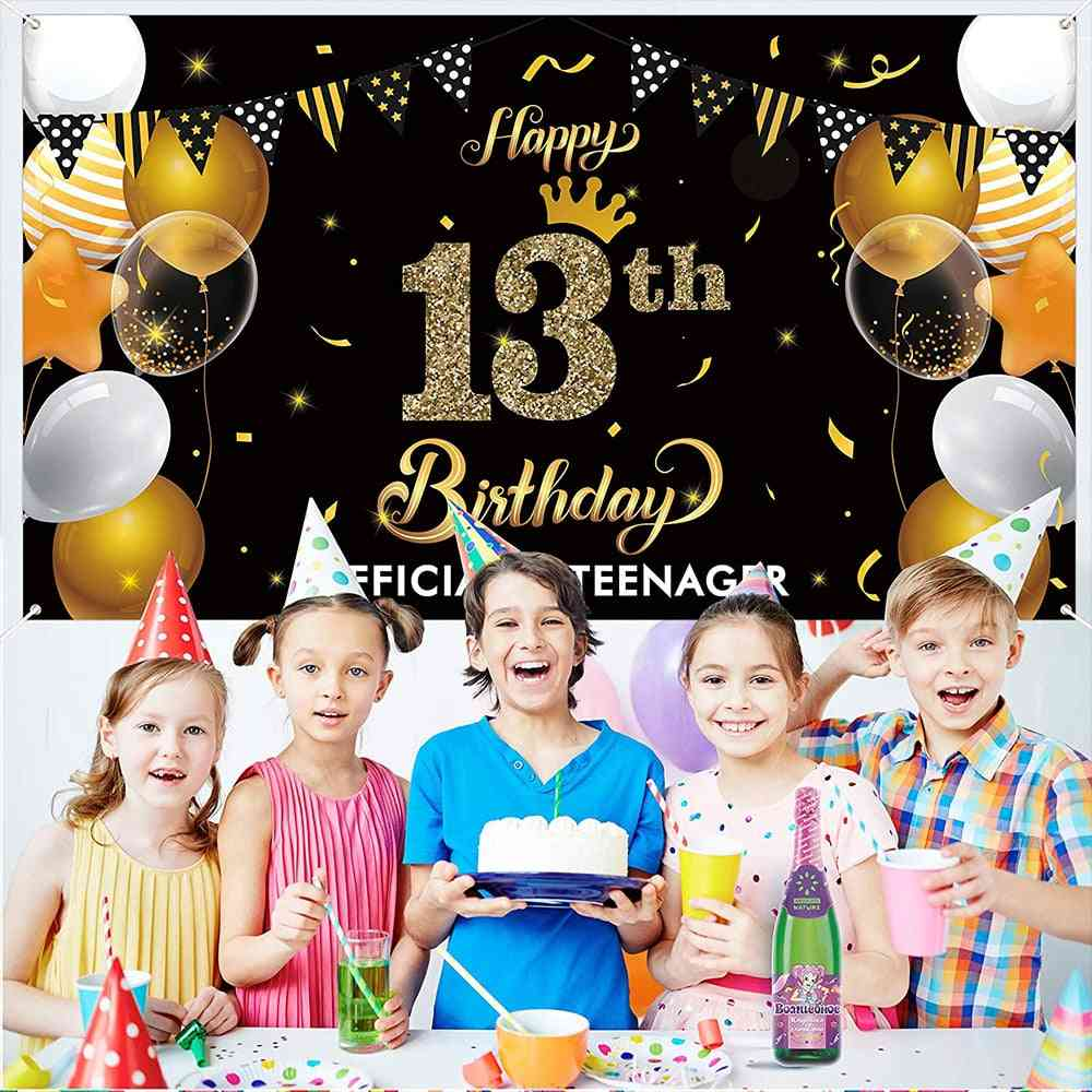 Happy Birthday, Banner. Photography Backgrounds Birthday Banner