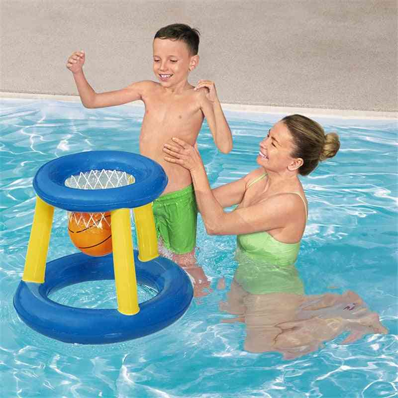 Outdoor Inflatable Pool Party Float Volleyball Football Basketball Float Set For Family Party