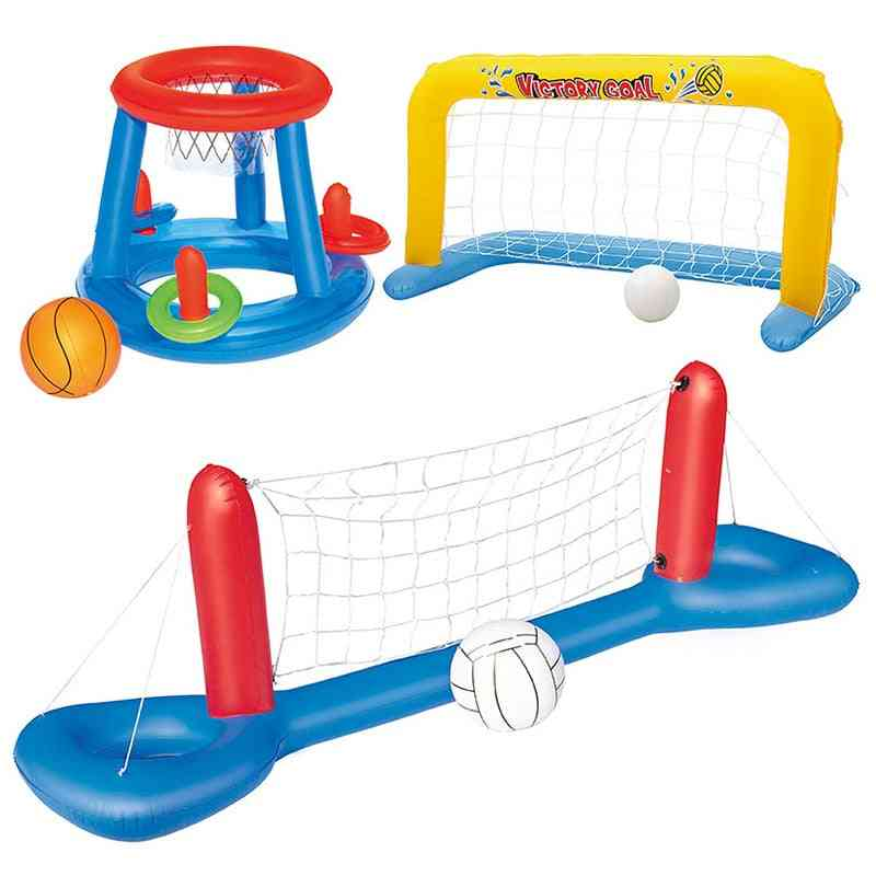 Pool Party Float Volleyball Football Basketball Water Games Sports Interactive Inflatable Summer