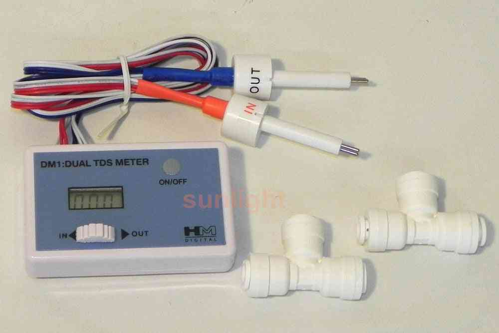 Hm Digital Dm-1 Home Tap Water In-line Dual Tds Monitor