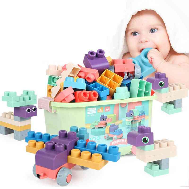 Baby Soft Rubber Big Particle Bricks