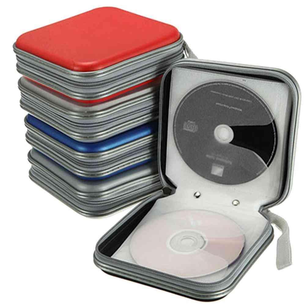 Cd Dvd Wallet Storage Organizer Case Holder