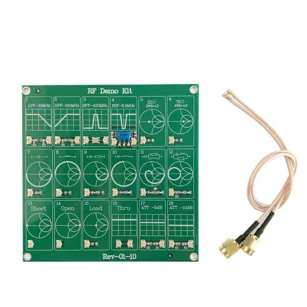 Rf Demo Kit Nano Vna Rf Tester Board