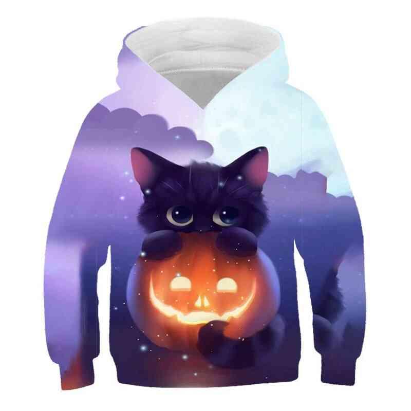 Cropped Sweatshirt, Outwear Anime Summer Hooded - 2