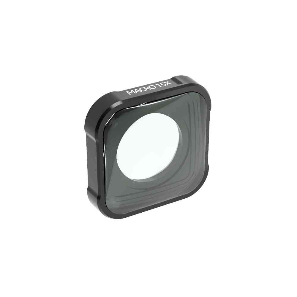 4k Hd 15x Macro Camera Lens For Gopro Hero 9 Black Action Camera