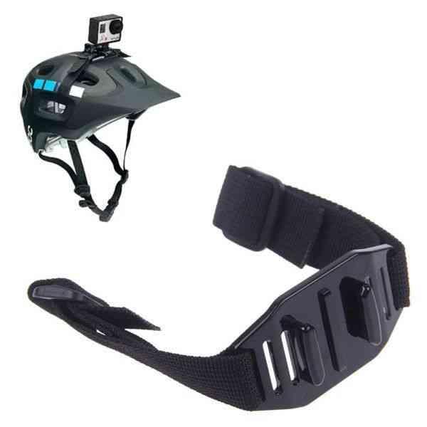 Head Helmet Strap Vented Adjustable Belt Holder Adapter For Go Pro Hero