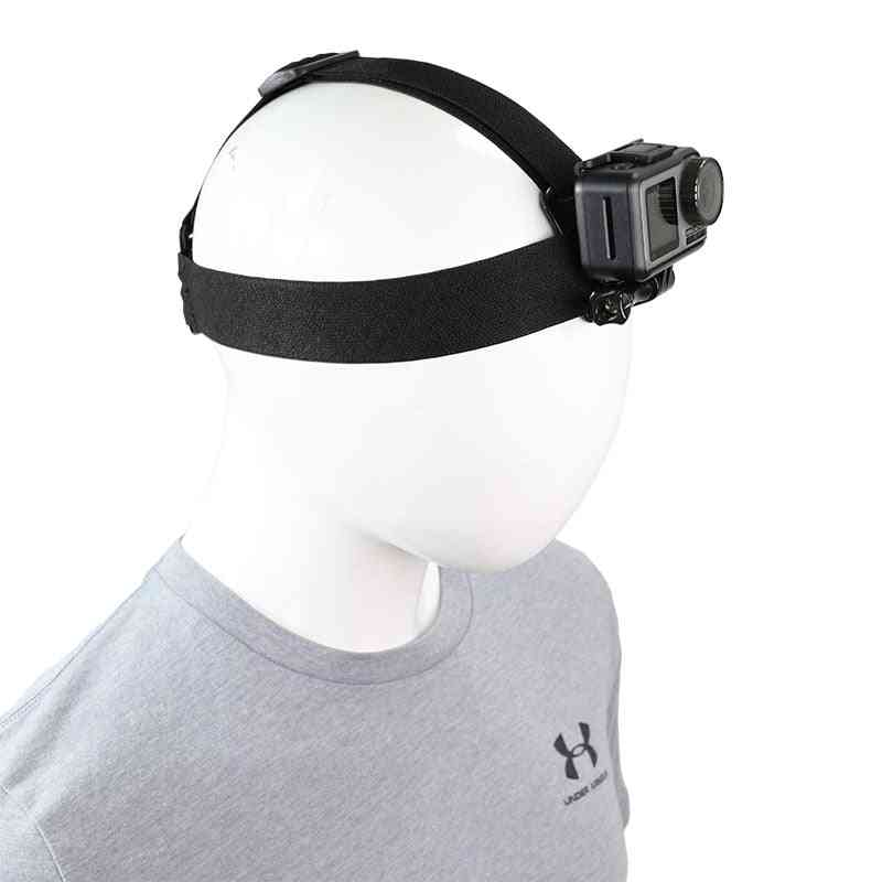 Head Strap Mount For Dji Osmo Action Gopro Hero