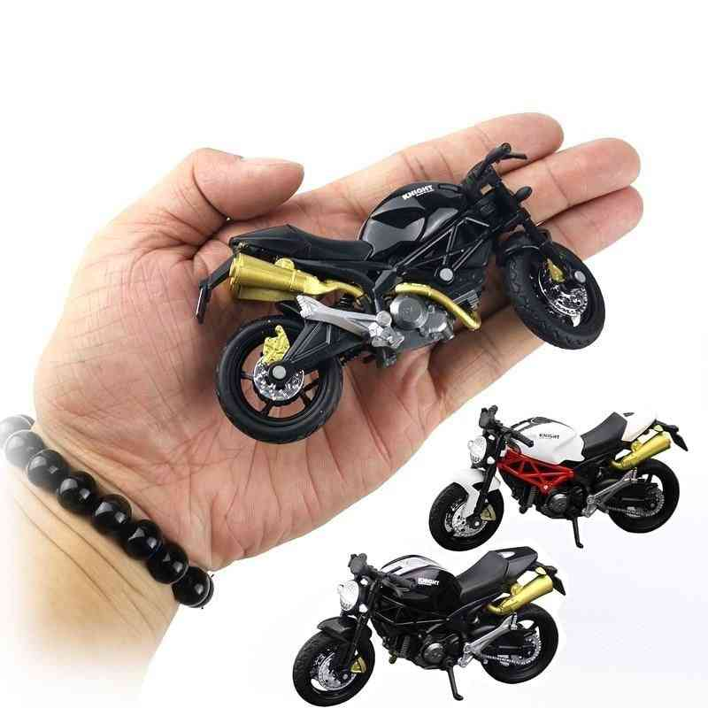 Office Model Toy Diecast Motorcycle Simulation Portable