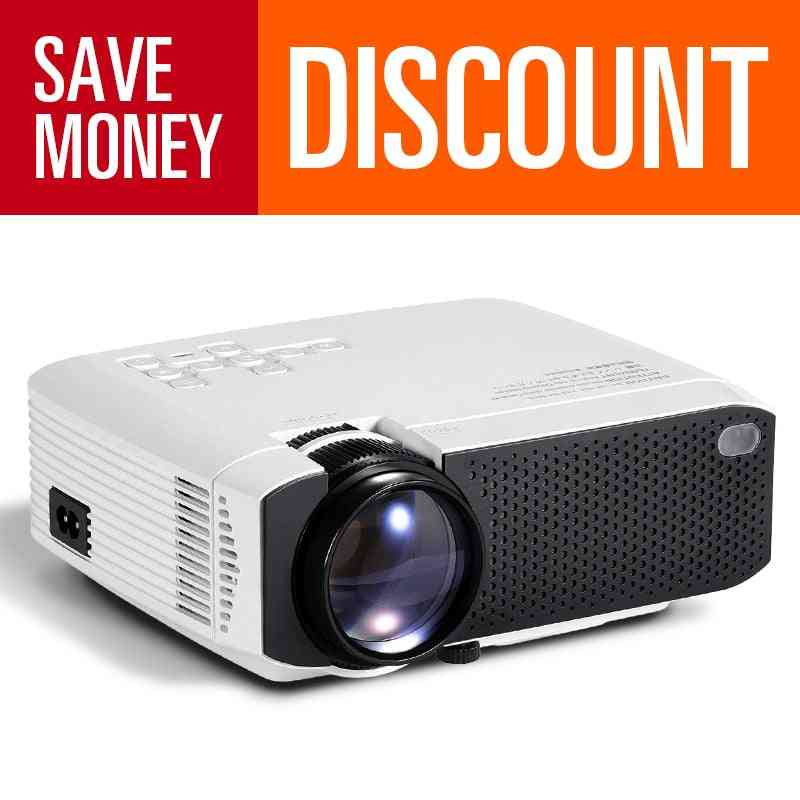 Aun Mini Projector Support 4k Full Hd 1080p Home Theater 3d Video Projector Portable Beamer For Outdoor