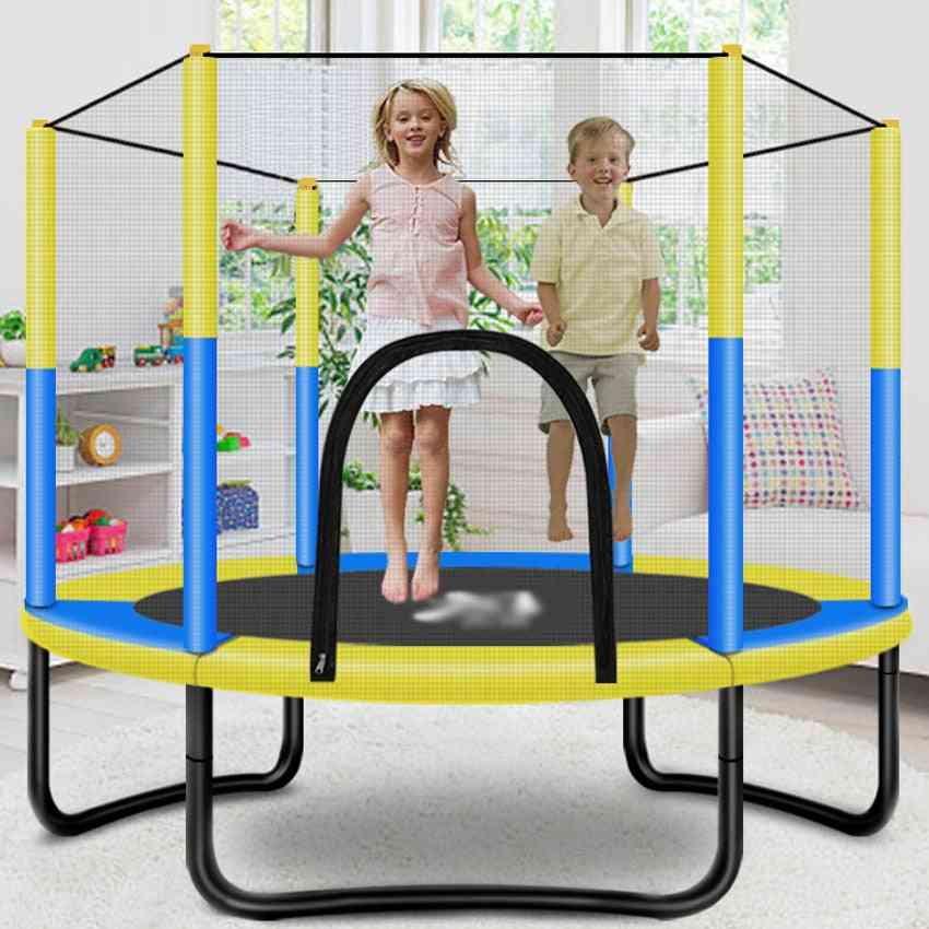 Kids Jumping Bed Round Home