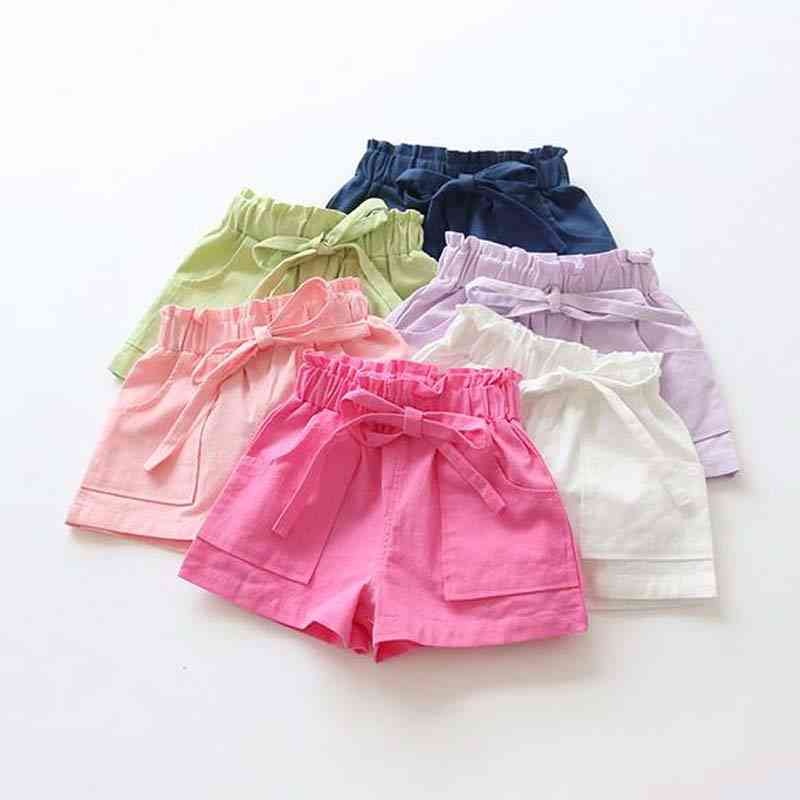 Cotton Candy Color Baby Shorts