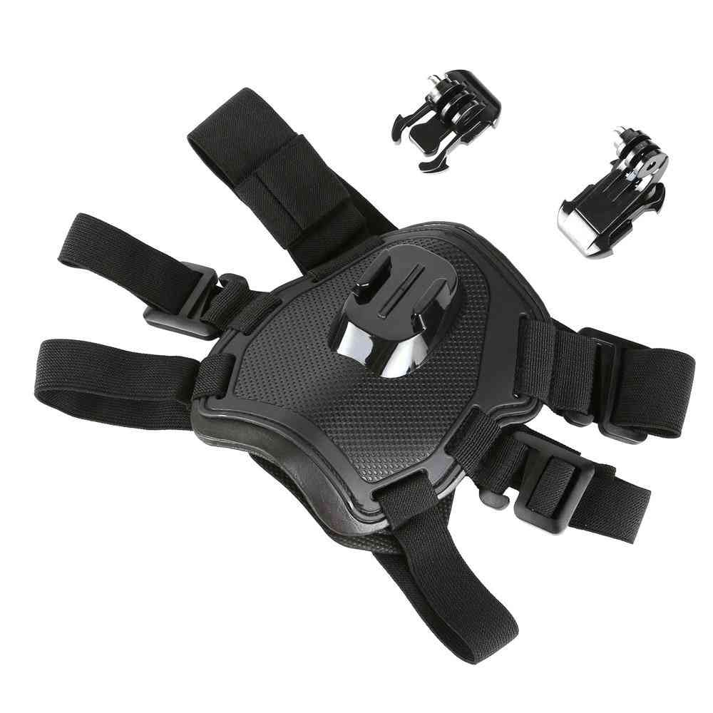 Fetch Dog Harness Chest Strap For Gopro Hero Dji Action Camera Accessories