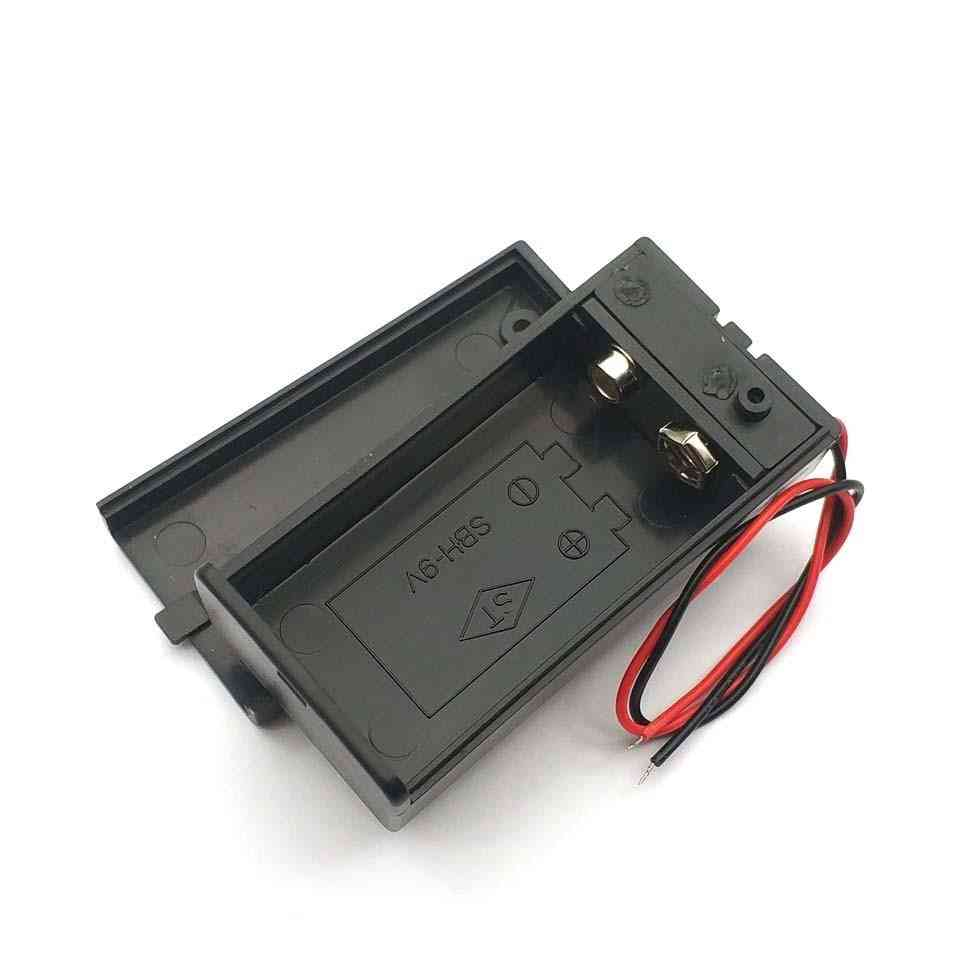 Battery Holder Box With Wire Lead