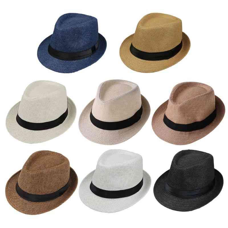 Kids Summer Beach Straw Hat