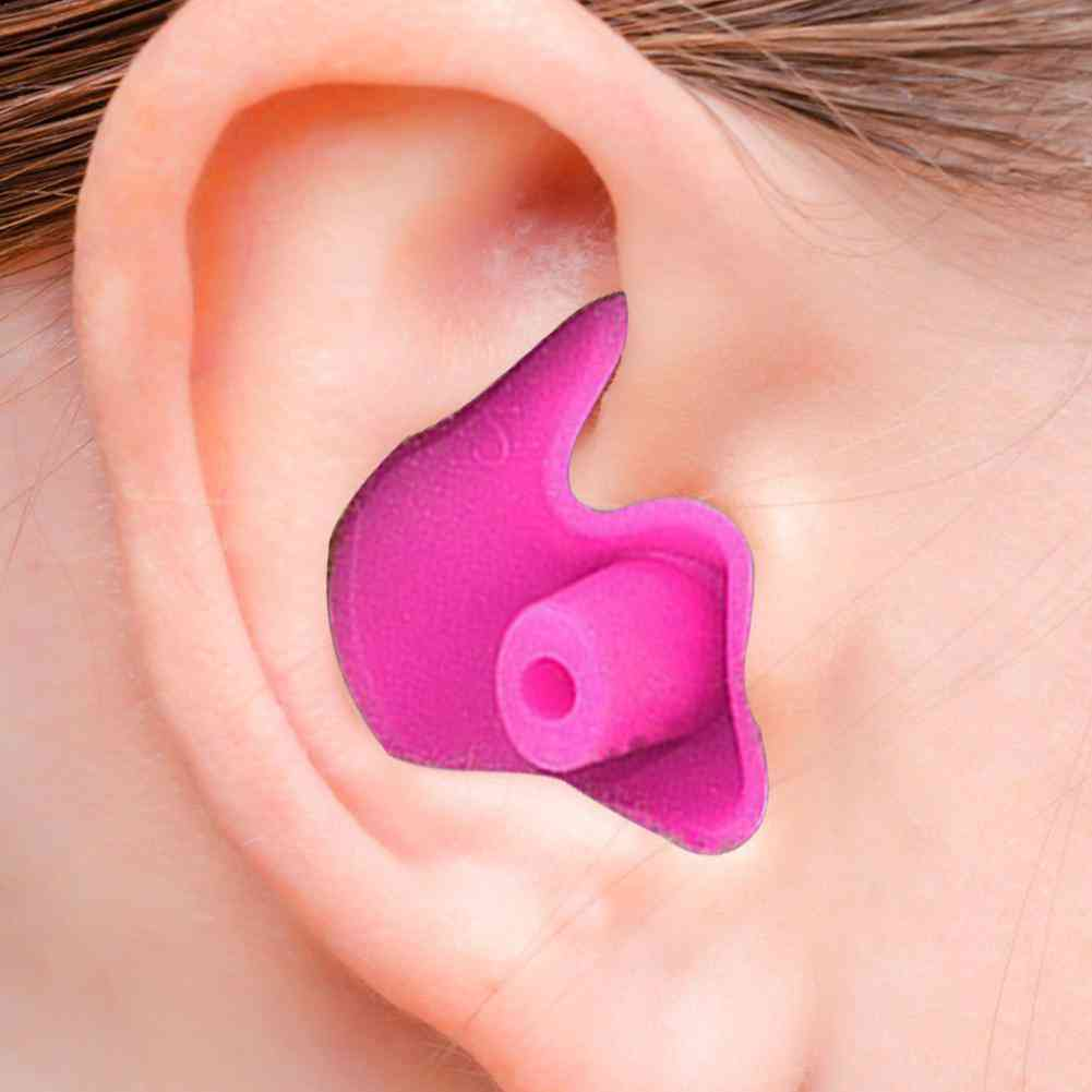 Silicone Waterproof Soft Texture Earplugs